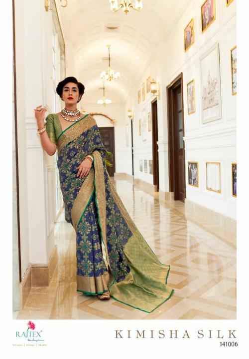 Rajtex Saree Kimisha Silk 141006 Price - 1195
