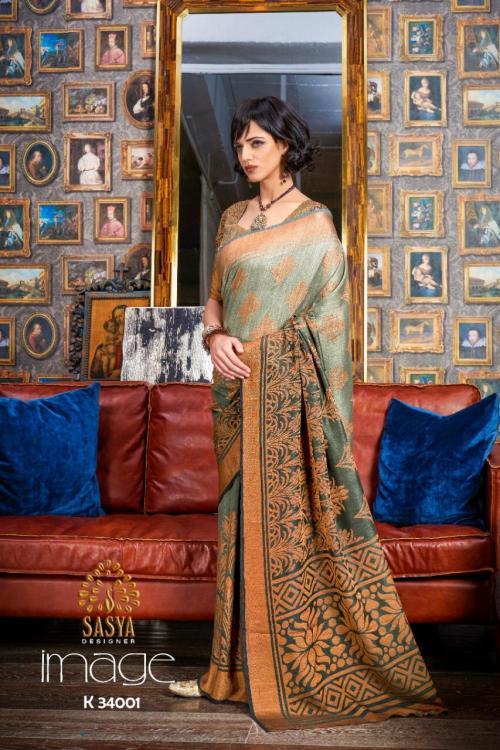 Sasya Saree Image 34001-34010 Series