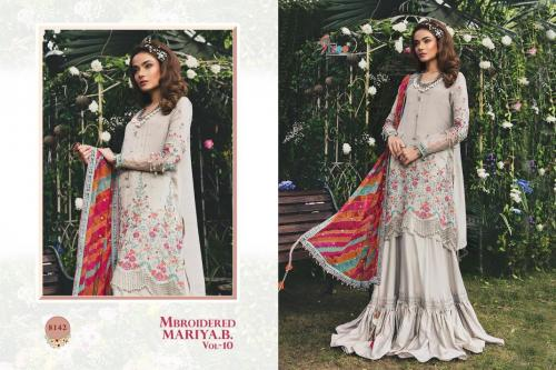 Shree Fabs Mbroidered Mariya B 8142 Price - 1399