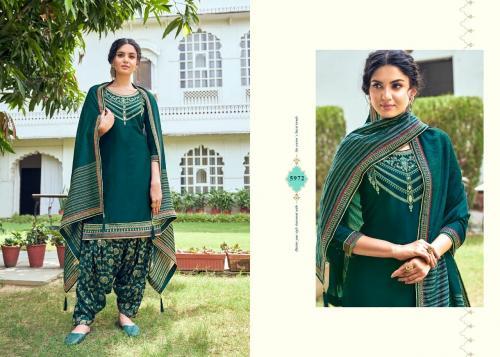 Kessi Fabrics Shangar By Patiala House 5972 Price - 949