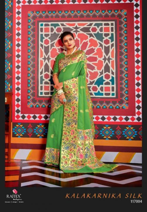 Rajtex Saree Kalakarnika Silk 117004 Price - 2295