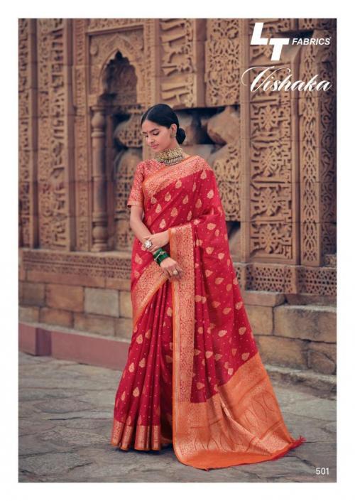 LT Fabrics Vishaka Silk 501 Price - 1125