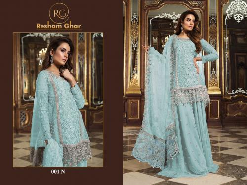 Resham Ghar Maria B 001 N Price - 1499