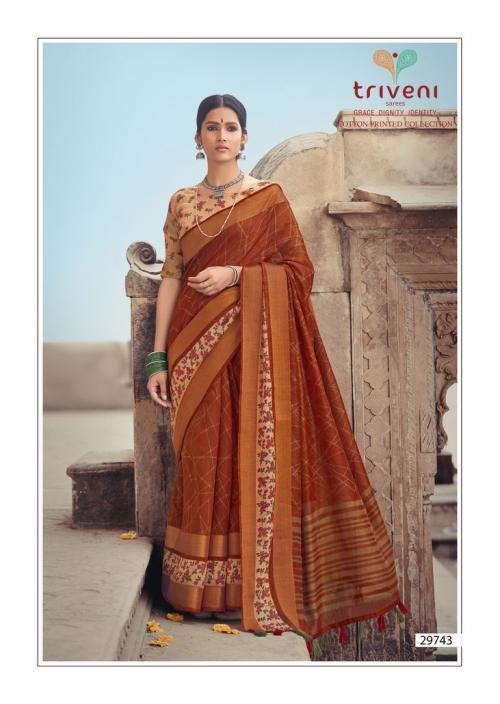 Triveni Saree Ganga Jamuna 29743 Price - 775