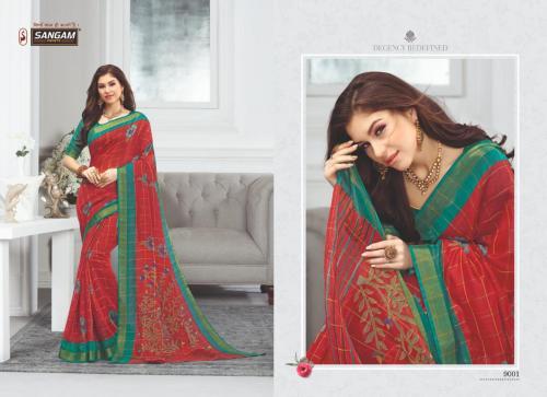 Sangam Saree Eliza 9001-9008 Series