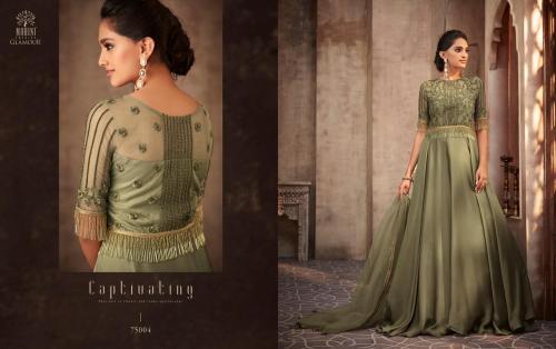 Mohini Fashion Glamour 75004 Price - SemiStiched- 2495 , Readymade Stitched , 2895