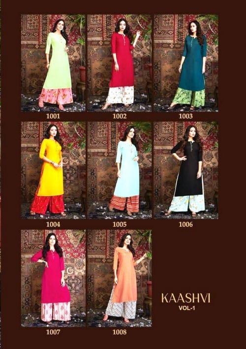 R Studio Rayan Kashvi 1001-1008 Price - 3992