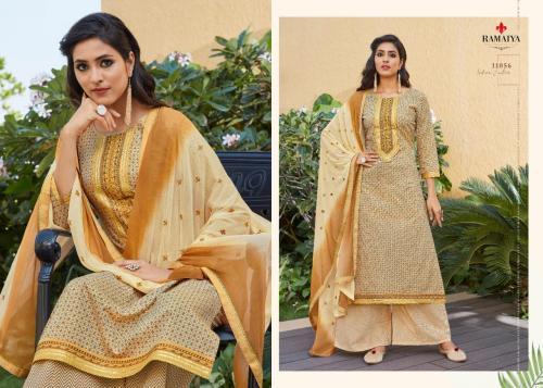 Kessi Fabrics Ramaiya Rose Gold 11056 Price - 699