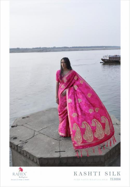 Rajtex Saree Kashti Silk 153004 Price - 1615
