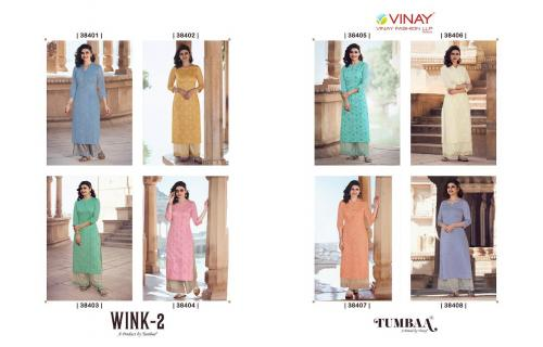 Vinay Fashion Tumbaa Wink  38401-38408 Price - 8840