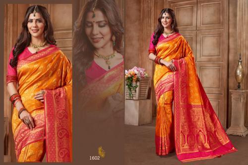 Jyotsana Saree Kanjivaram Silk 1602 Price - 2250