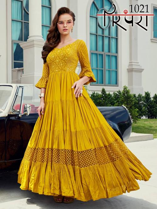 Parampara Gowns 1021 Price - 2870