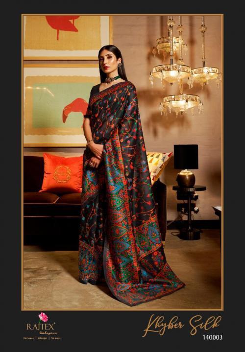 Rajtex Saree Khyber Silk 140003  Price - 2195