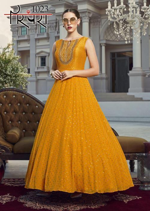 Parampara Gowns 1023 Price - 2510