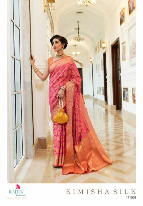 Rajtex Saree Kimisha Silk 141001 Price - 1195